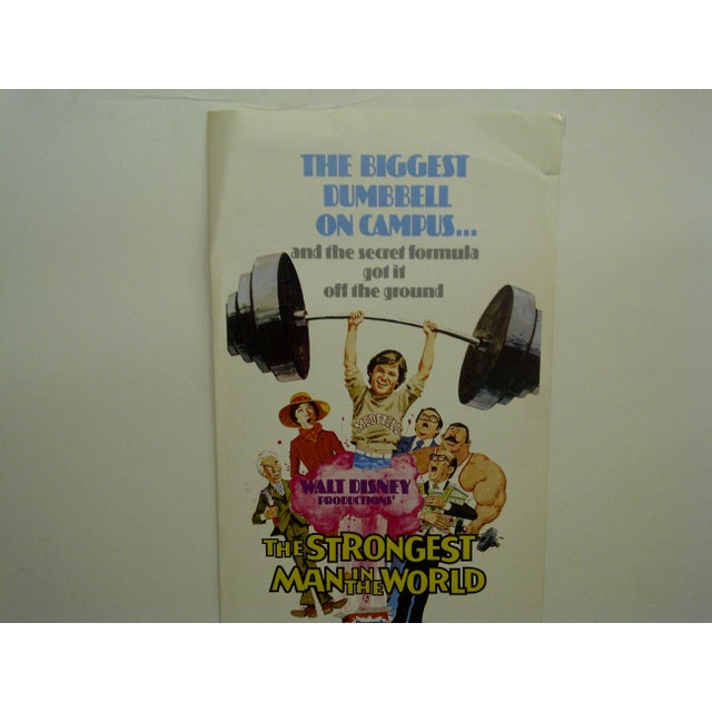 """""""The Strongest Man in the World"""" Movie Poster, 1974 - Image 3 of 5"""