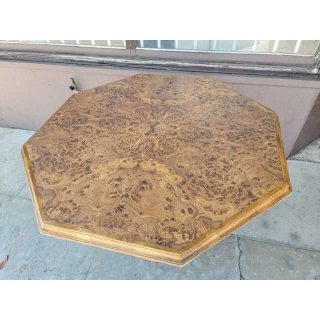 Vintage Modern Wood Dining Table For Sale In Los Angeles - Image 6 of 13