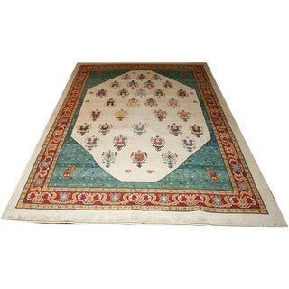 A Sensational Super Quality Persian Gabbeh Area Rug - 7' X 10' For Sale