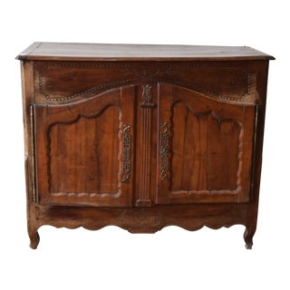 19th Century French Provincial Fruitwood Buffet
