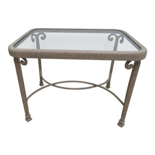 "Woodard "" Landgrave "" Patio Porch Side End Table"