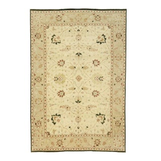 Contemporary Indo-Persian Mahal Palace Rug With Modern Style - 11'09 X 17'08 For Sale