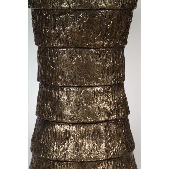 Sculptural Brutalist Pedestal Style Table For Sale - Image 4 of 9
