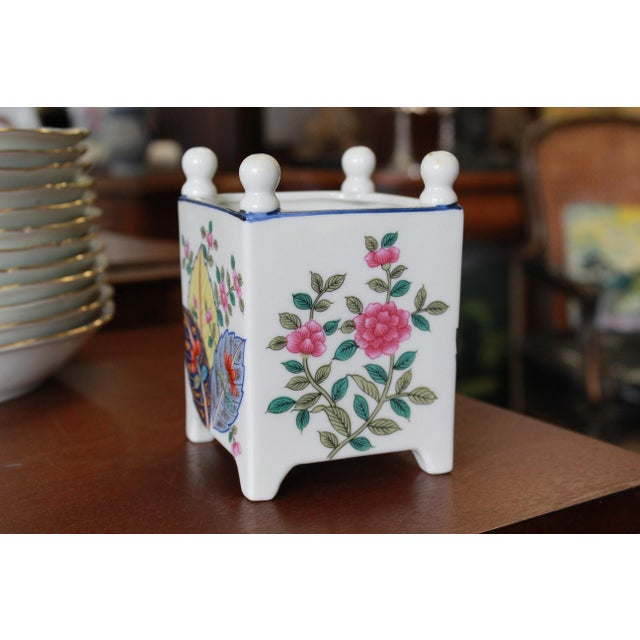 French Late 20th Century Tobacco Leaf Planter For Sale - Image 3 of 6