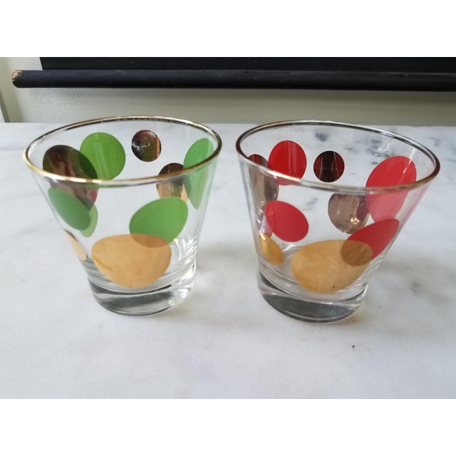 Russel Wright Mid-Century Eclipse Gold Cocktail Glasses - Set of 6 - Image 5 of 10