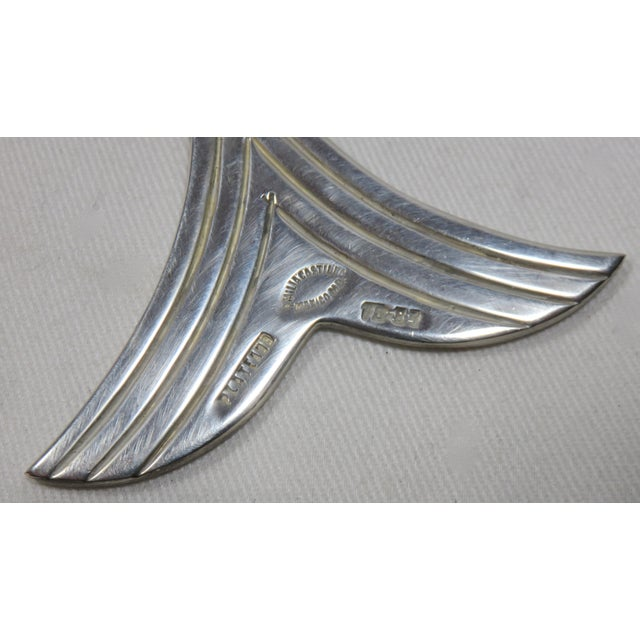 Emillia Castillo Mexico Silverplate Articulated Fish Bottle Opener For Sale - Image 10 of 13