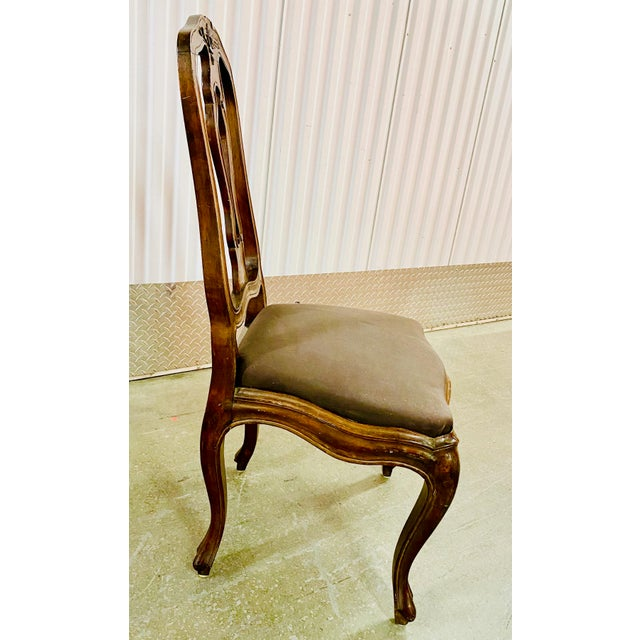 19th Century Neoclassical French Dining Chairs - Set of 4 For Sale In New York - Image 6 of 12