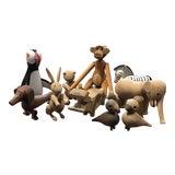 Image of Kay Bojesen Wooden Danish Toys - Set of 10 For Sale