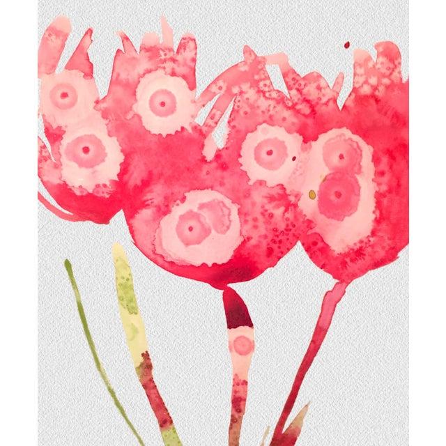 Framed Pink Botanical Print - Image 3 of 3