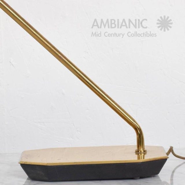 Mid-Century Anthony Howard for Koch & Lowy Brass Desk Lamp For Sale In San Diego - Image 6 of 7