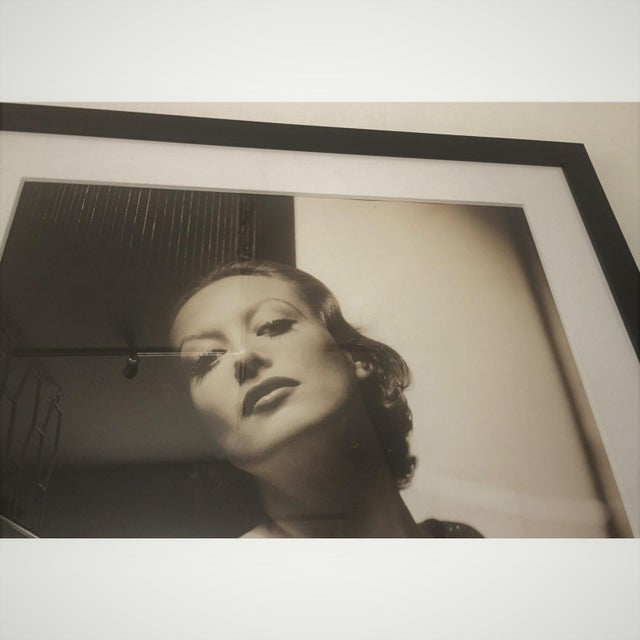 Hollywood Regency Vintage 2000 George Hurrell Joan Crawford Digital Photograph From 1932 Restored Negative For Sale - Image 3 of 13