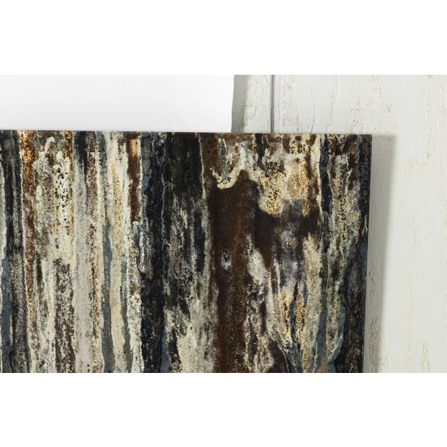Industrial Steel Art Panel For Sale - Image 9 of 11