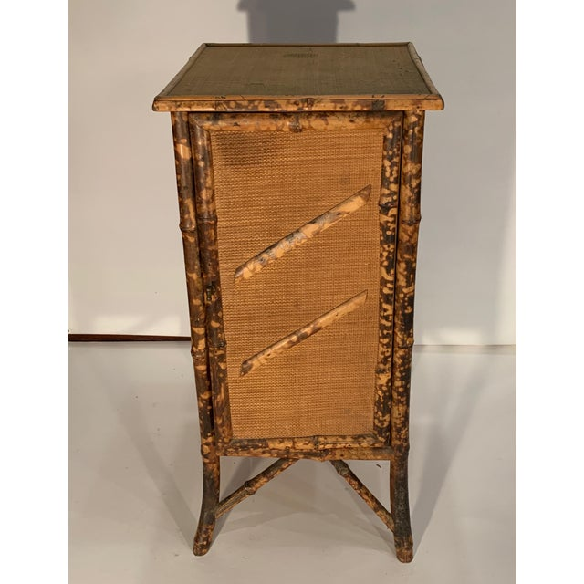 1920s Chinese Bamboo Cabinet For Sale In Boston - Image 6 of 6