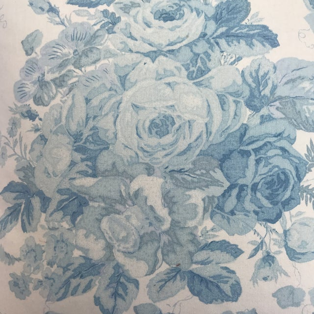 """Ralph Lauren """"Faded Bouquet"""" Blue & White Floral Pillows~Pair For Sale - Image 11 of 11"""