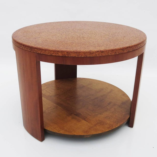 Cork Topped Occasional Table For Sale In Los Angeles - Image 6 of 7