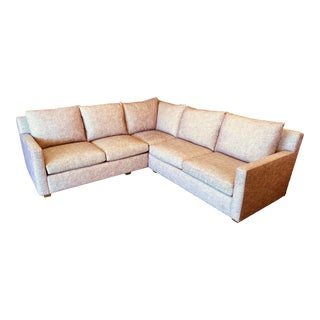 Kroll Furniture Custom Sectional For Sale