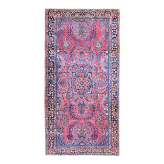 Early 20th Century Vintage Sarouk Rug For Sale