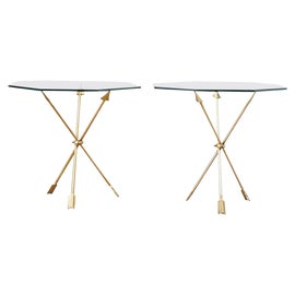 Image of Brass Drink Tables