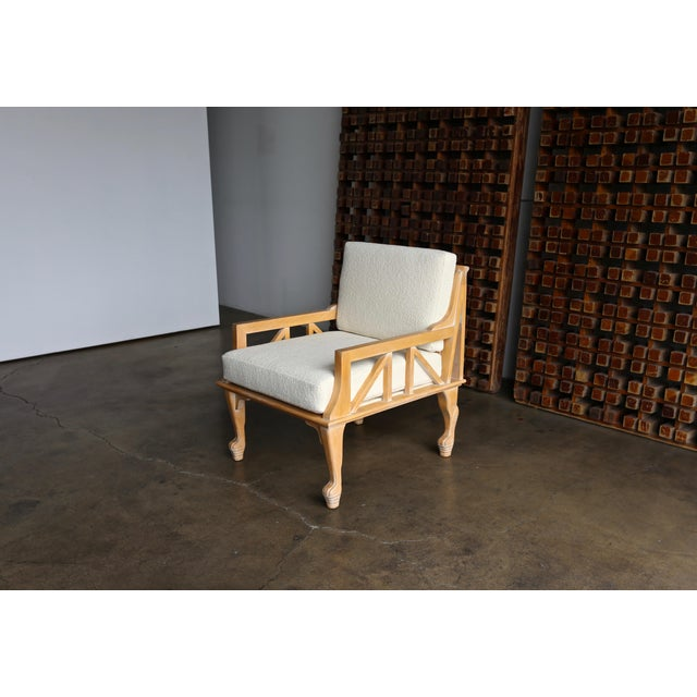"1970s Vintage John Hutton for Randolph & Hein ""Thebes"" Chair For Sale - Image 10 of 11"