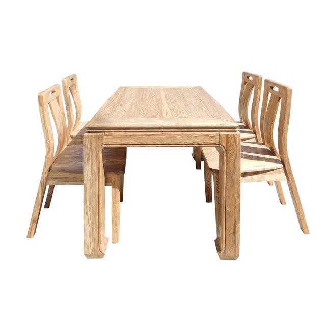 Light Wood Dining Set - Image 3 of 6