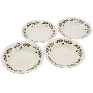 Christmas Bowls - Set of 4 For Sale