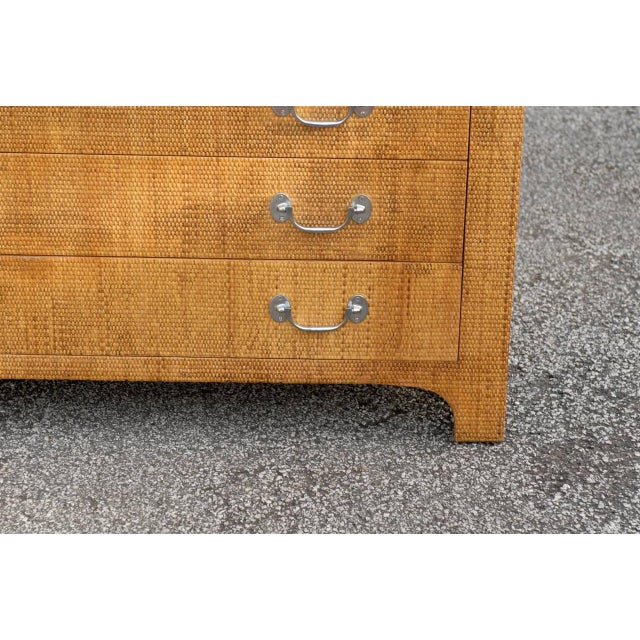 Heavenly Raffia Chest by Harrison Van Horn For Sale - Image 10 of 11