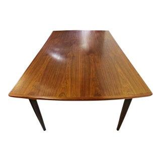 Gudme Mobelfabrik Teak Extension Dining Table For Sale