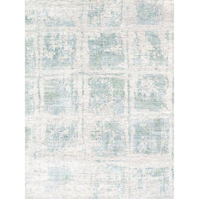 Pasargad's Aqua Silk Collection Rug - 9' x 12' - Image 3 of 6