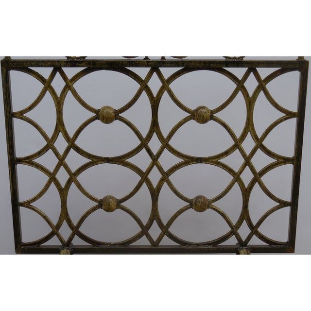 Iron Fireplace Screen - Image 3 of 11