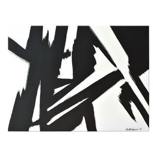 Black Slash No. 1 36 48 For Sale