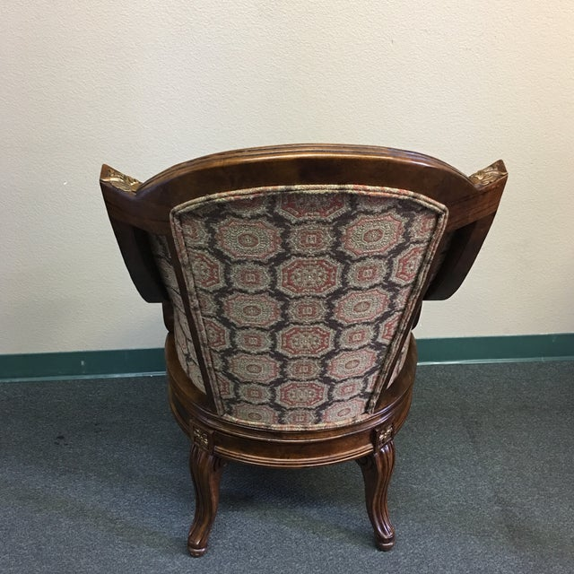 Century Furniture Savoy Swivel Office Chair - Image 4 of 11