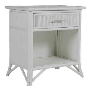 Aruba One-Drawer Nightstand - Light Gray For Sale