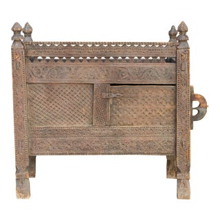 19th Century Hindu Kush Dowry Chest For Sale