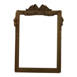 1920s Beaux-Arts Picture Frame For Sale