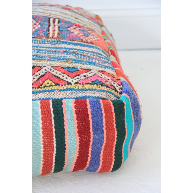 Vintage Moroccan Pouf - Image 3 of 6