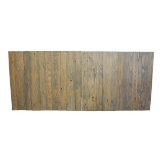 Classic Gray Oil-Based Stain King - California King Headboard Hanger Style