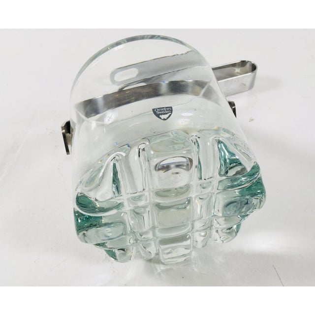Orrefors Orrefors Crystal Ice Bucket For Sale - Image 4 of 7