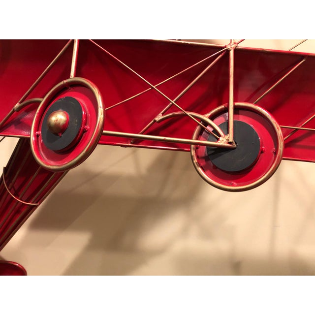 Metal 1980s Vintage Curtis Jere Airplane Wall Sculpture For Sale - Image 7 of 13