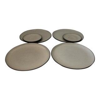 Late 20th Century Vintage Heath Ceramic Plates - Set of 6