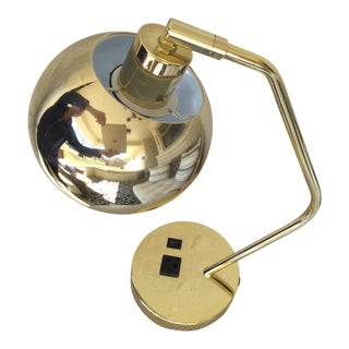 Brass Desk Lamp For Sale
