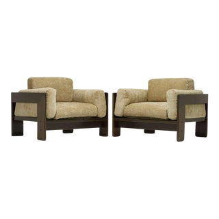 "Pair of ""Bastiano"" Chairs by Afra and Tobia Scarpa For Sale"