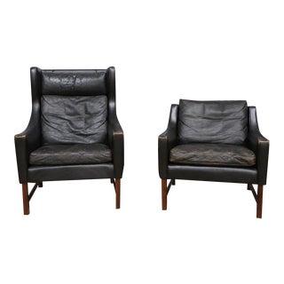 Scandinavian Modern Chairs- Set of 2