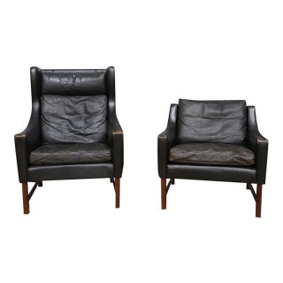 Scandinavian Modern Chairs- Set of 2 For Sale