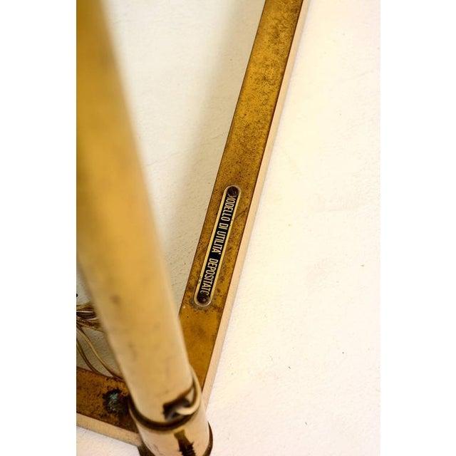 Mid Century Modern Italian Brass Adjustable Vanity For Sale - Image 10 of 10