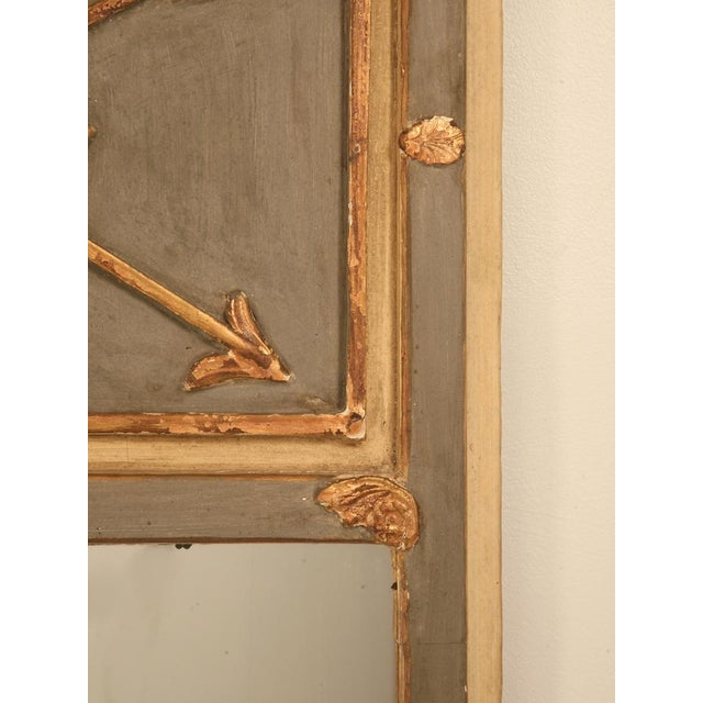 Antique Diamond & Crossed Arrows French Directoire Mirror For Sale In Chicago - Image 6 of 10