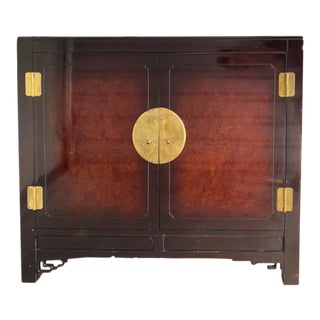 Chinese Modern Lacquered Sideboard For Sale