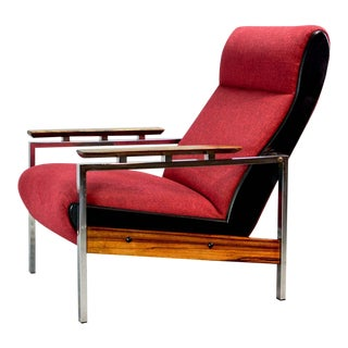 Mid-Century Dutch Design Lounge Club Chair Designed by Rob Parry for Gelderland, 1960s For Sale