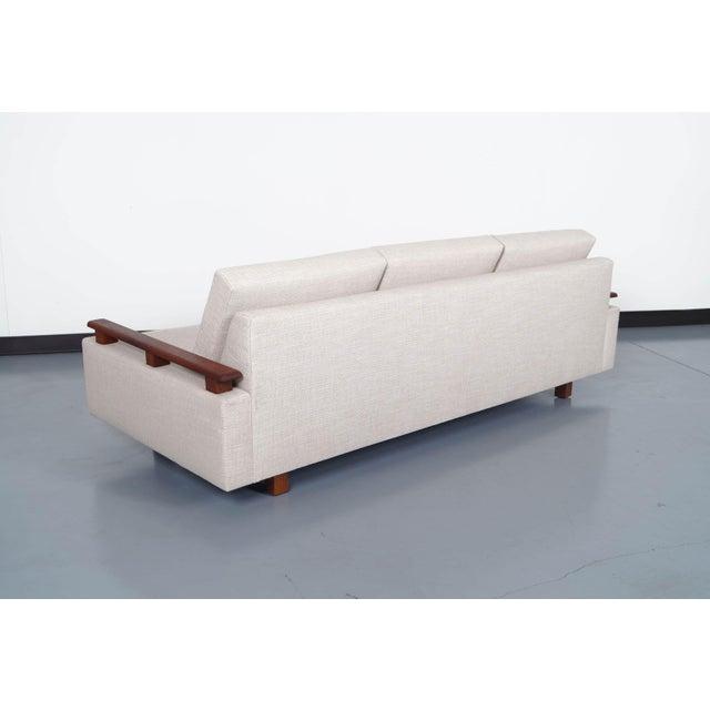 Mid Century Modern Walnut Sofa - Image 6 of 6