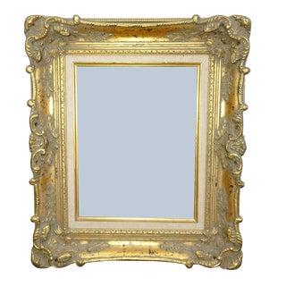 Vintage French Provincial Gold Ornate Wall Mantle Frame For Sale