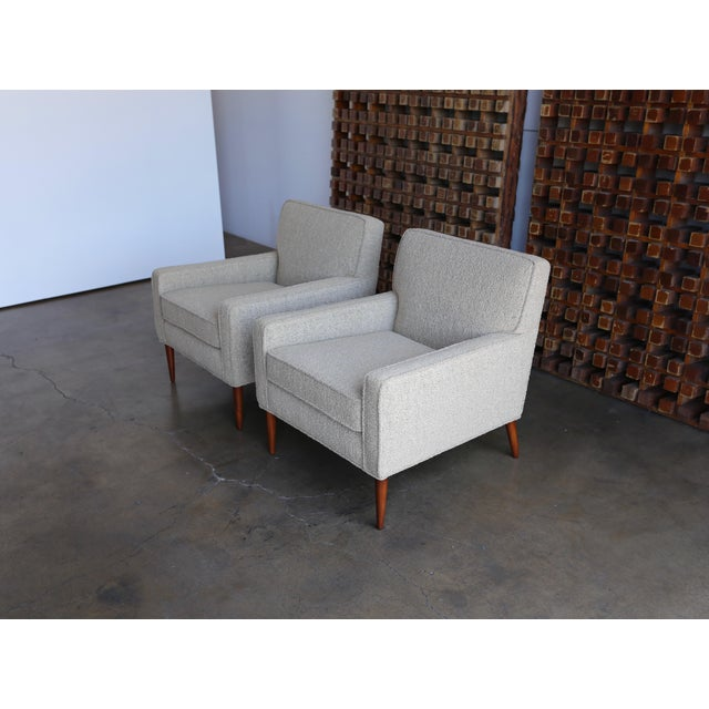 Mid-Century Modern Mid Century Paul McCobb Lounge Chairs - a Pair For Sale - Image 3 of 11